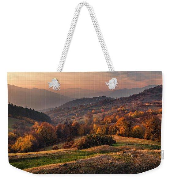 Rhodopean Landscape Weekender Tote Bag