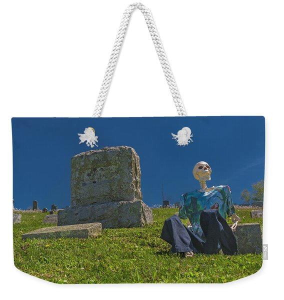Rhythm And Blues On The Hill Weekender Tote Bag