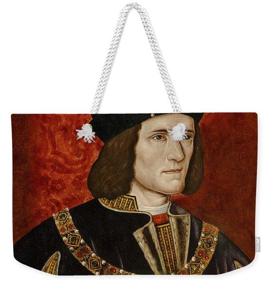 Richard IIi  Oil On Panel Weekender Tote Bag
