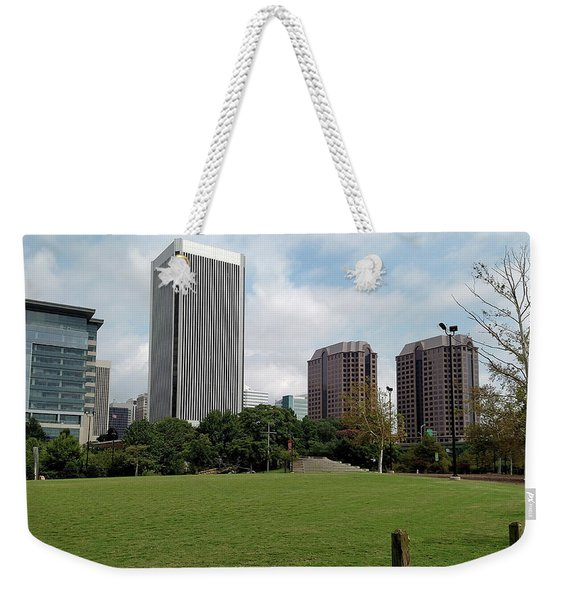 Richmond Cityscape Weekender Tote Bag