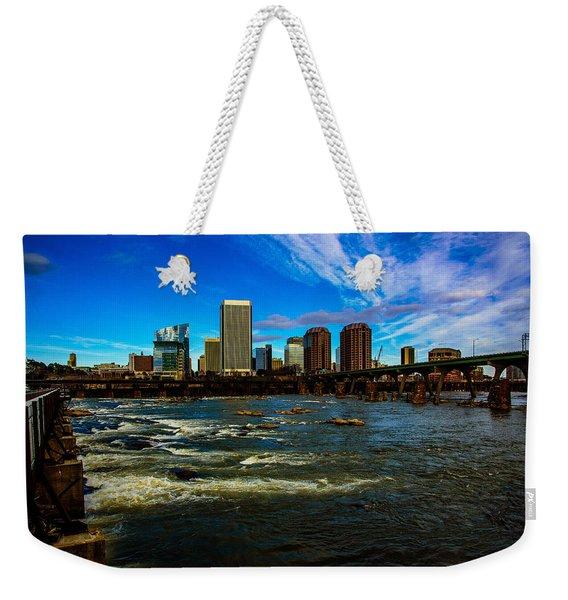 Richmond On The James  Weekender Tote Bag