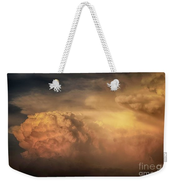 Ride For The Sunset Weekender Tote Bag
