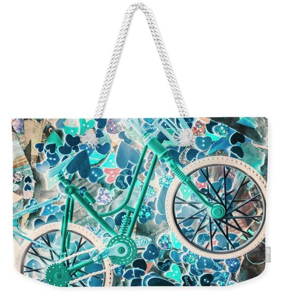 Ride Of Romance Weekender Tote Bag