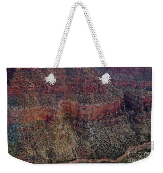Ridge Lines Weekender Tote Bag