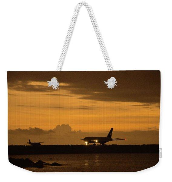 Right Of Way Weekender Tote Bag