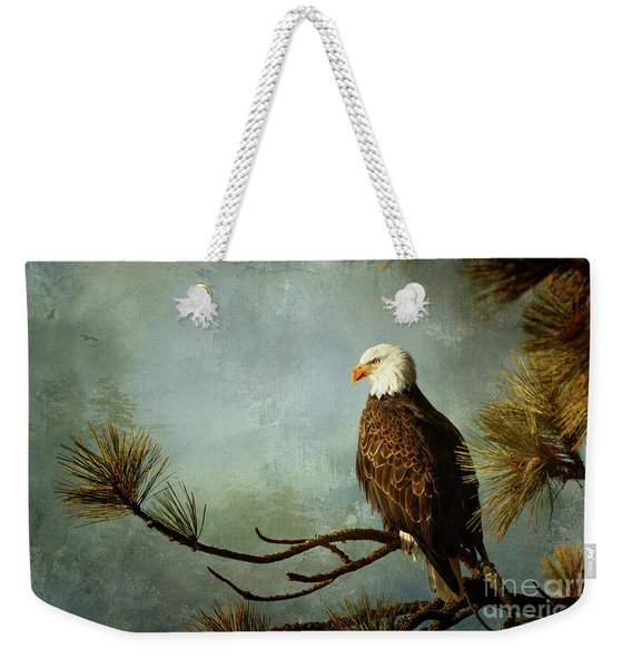 Right With Nature Weekender Tote Bag
