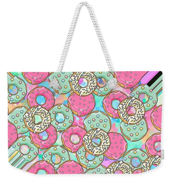 Ring Donut Weekender Tote Bag