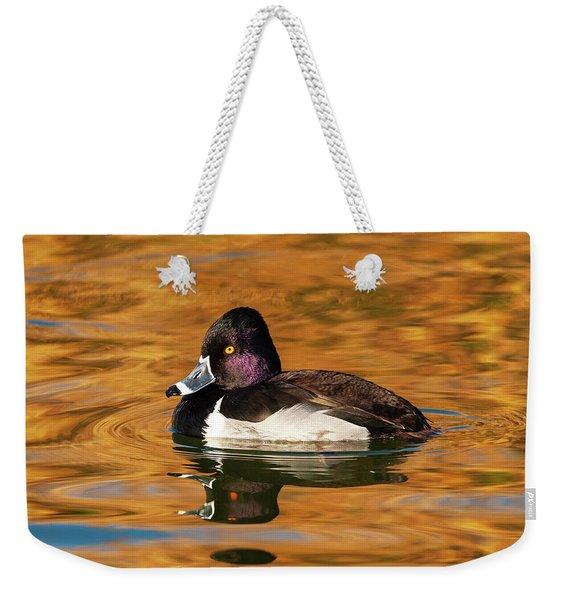Ring-necked Duck Weekender Tote Bag