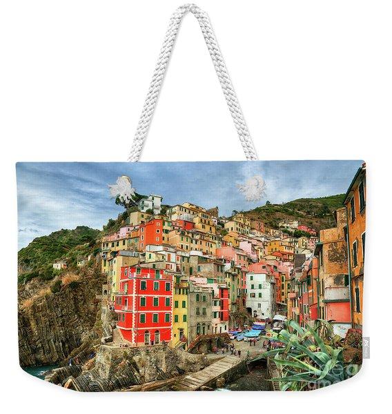 Riomaggiore Cinque Terre Weekender Tote Bag