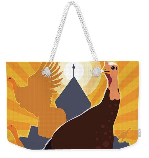 Rise Up Weekender Tote Bag