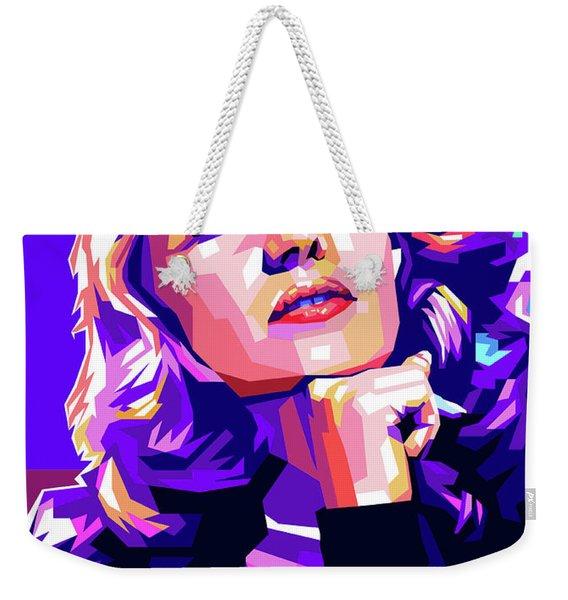 Rita Hayworth Illustration Weekender Tote Bag