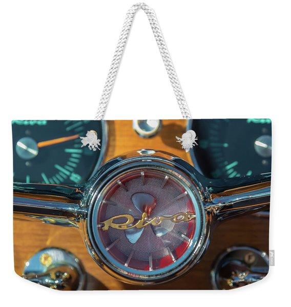 Riva Aquarama Wheel Weekender Tote Bag