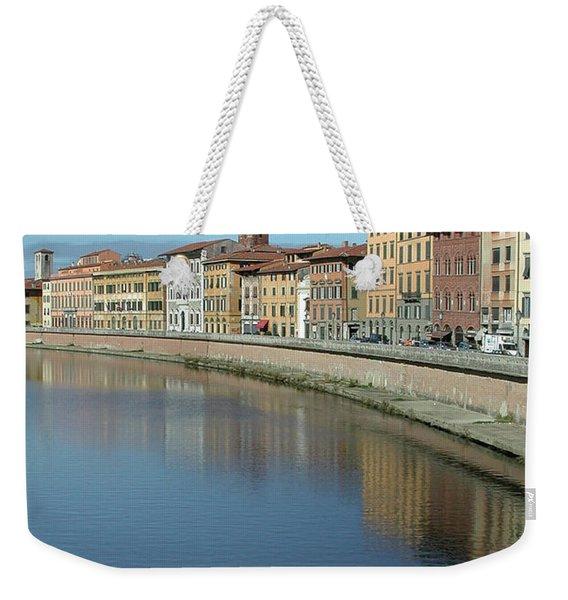 River Arno Pisa Weekender Tote Bag