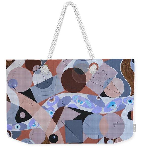 River Of Eyes Weekender Tote Bag