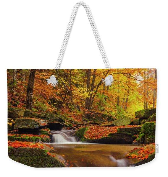River Rapid Weekender Tote Bag