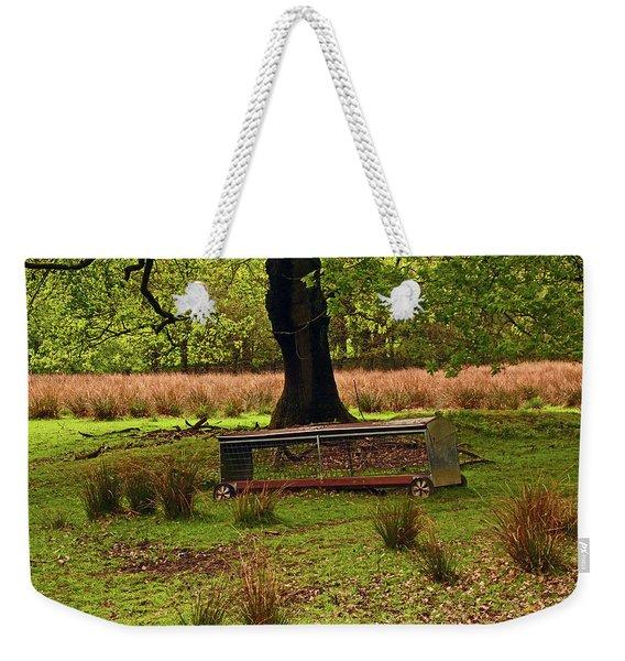 Rivington. Terraced Gardens. Feeding Trough. Weekender Tote Bag