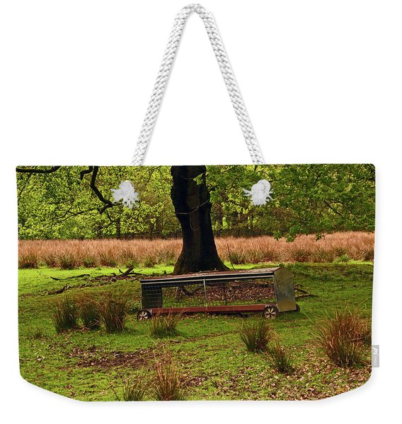 Rivington. Terraced Gardens. Feeding Trough. Weekender Tote Bag