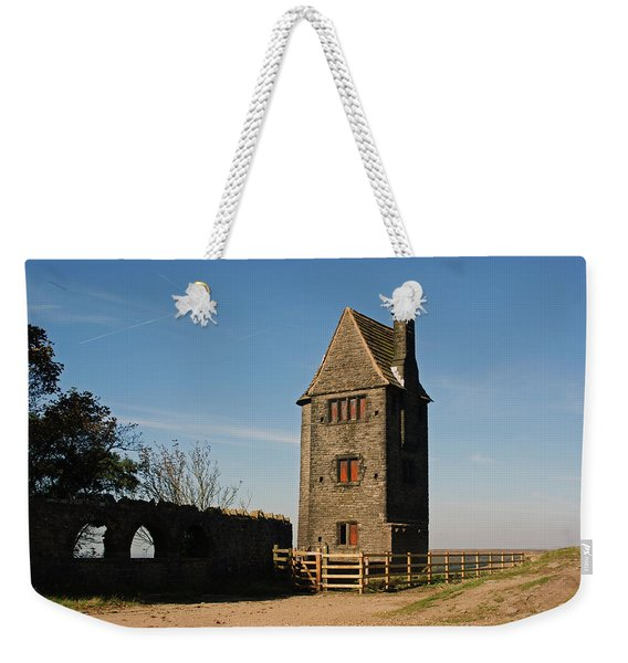 Rivington. The Pigeon Tower. Weekender Tote Bag