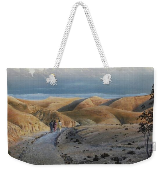 Road To Emmaus Weekender Tote Bag