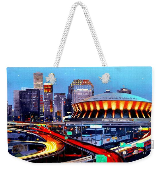Road To The Dome Weekender Tote Bag