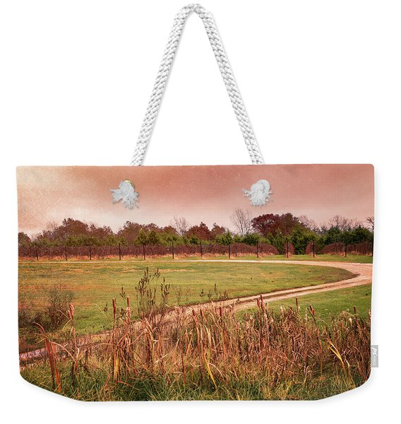 Road To Vintage Vineyards Weekender Tote Bag