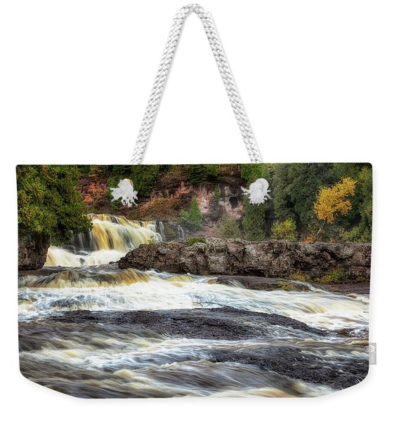 Roaring Gooseberry Falls Weekender Tote Bag