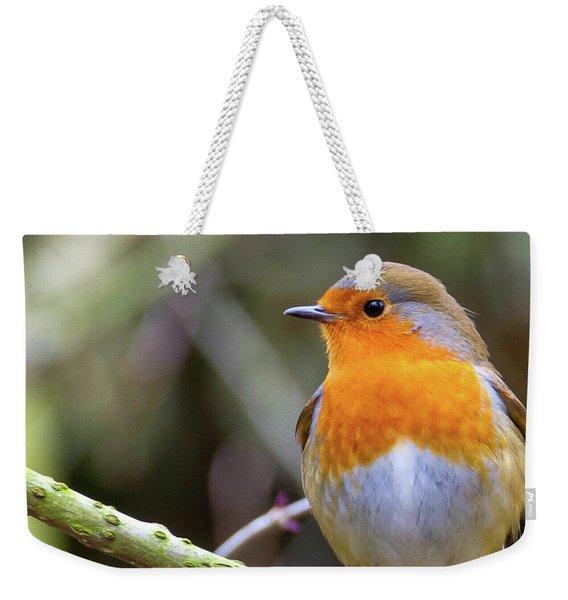 Robin. On Guard Weekender Tote Bag