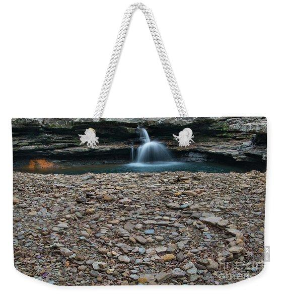 Rock Circle Weekender Tote Bag