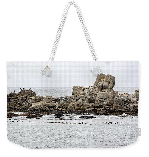 Rock Sculpture By Mother Nature Weekender Tote Bag