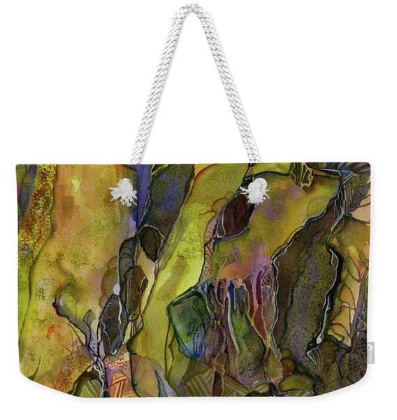 Rock Solid Weekender Tote Bag