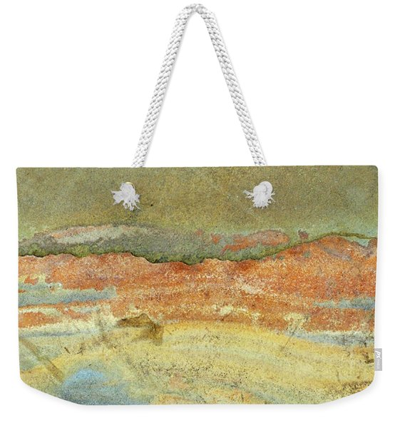 Rock Stain Abstract 2 Weekender Tote Bag