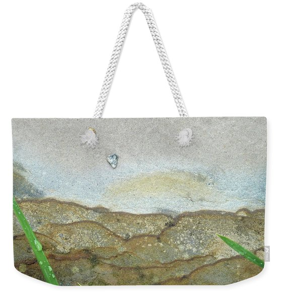 Rock Stain Abstract 5 Weekender Tote Bag