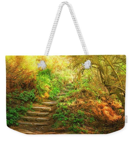 Rock Stairs Weekender Tote Bag