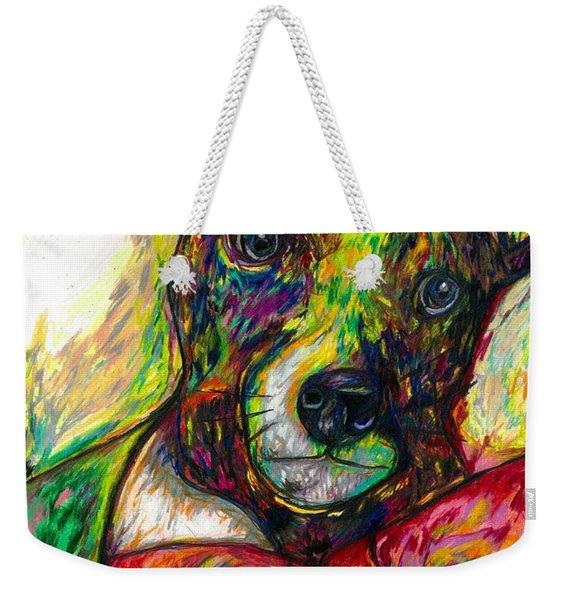 Rocket The Dog Weekender Tote Bag