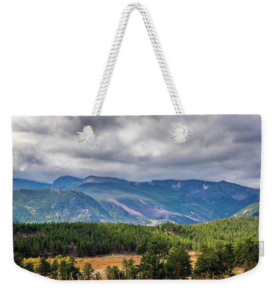 Rockies - Clouds Weekender Tote Bag