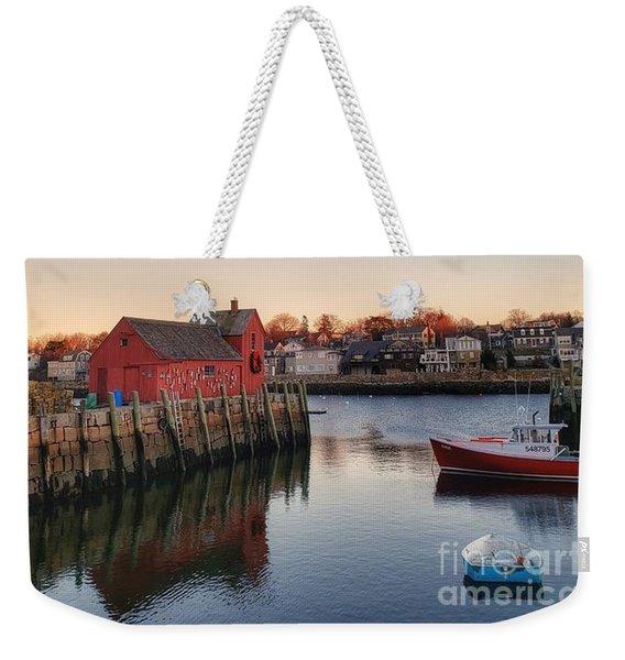 Rockport Massachusetts  Weekender Tote Bag