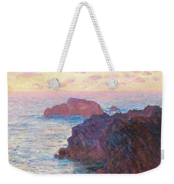 Rocks At Belle-isle, Port-domois - Digital Remastered Edition Weekender Tote Bag