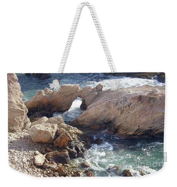 Rocks At Montana De Oro Weekender Tote Bag