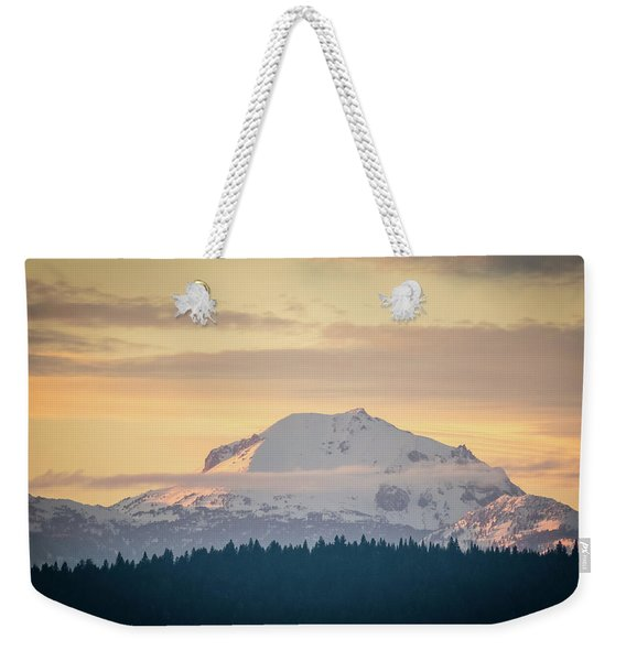 Rocky Cathedrals That Reach To The Sky Weekender Tote Bag