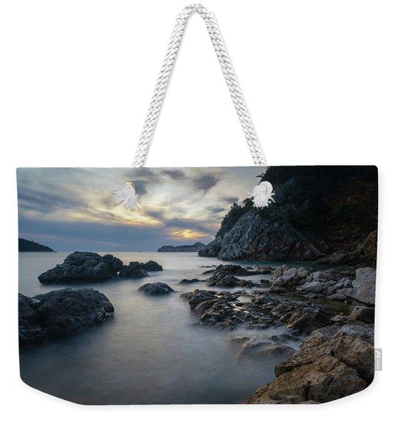 Rocky Coast Near Dubrovnik Weekender Tote Bag