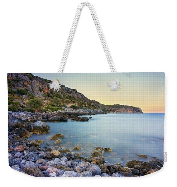 Rocky Coast Near Monemvasia Weekender Tote Bag