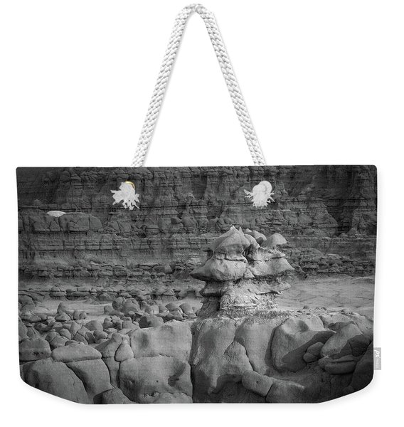 Rocky Desert Formation Weekender Tote Bag
