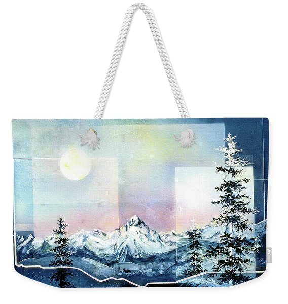 Rocky Mountain High Weekender Tote Bag