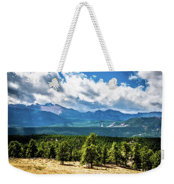 Rocky Mountain Np I Weekender Tote Bag