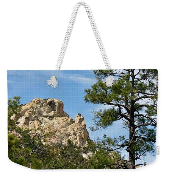 Rocky Peak Weekender Tote Bag