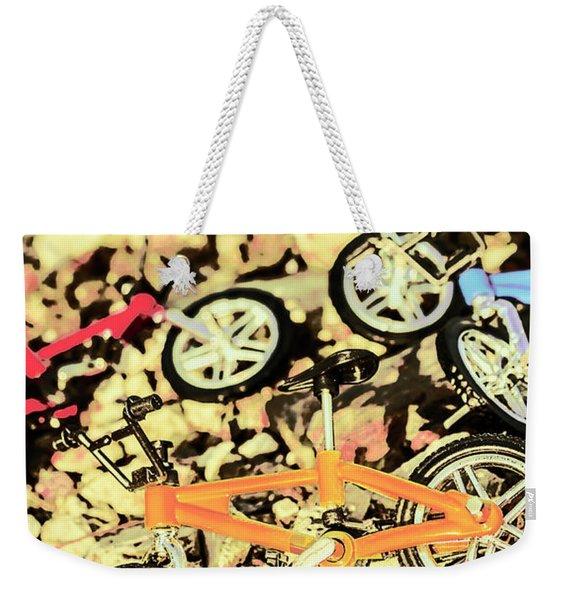 Rocky Racers Weekender Tote Bag