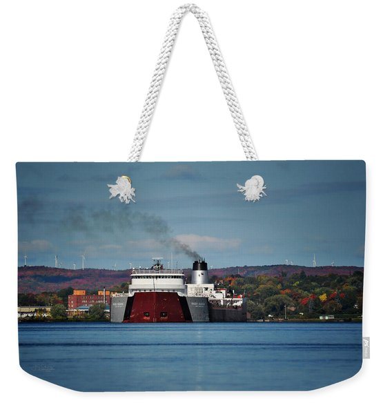 Roger Blough And Canada Shore Weekender Tote Bag