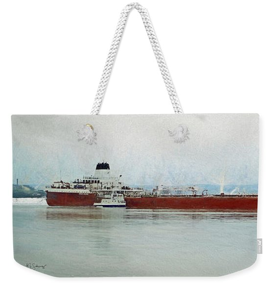 Roger Blough And Ojibway Weekender Tote Bag