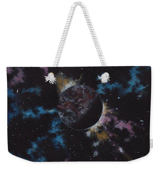 Rogue Planet Weekender Tote Bag