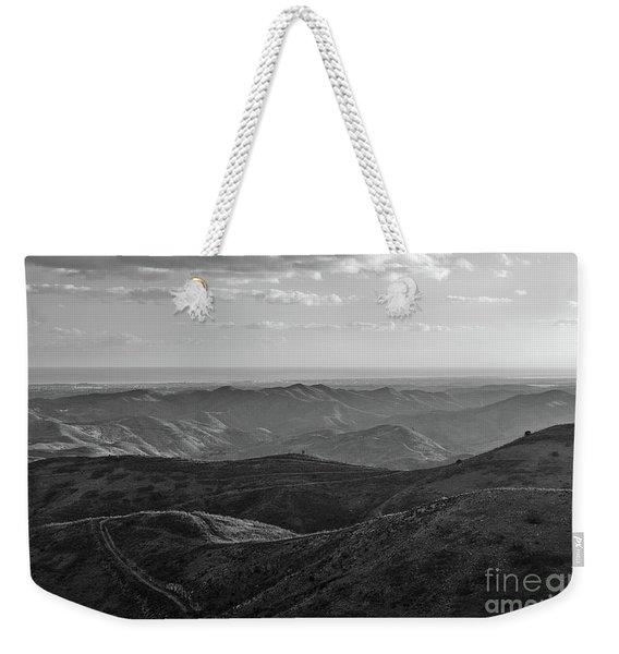 Rolling Mountain Weekender Tote Bag